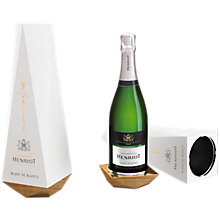 Buy Henriot Blanc de Blancs Champagne, 75cl Online at johnlewis.com