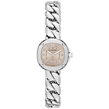 Buy Burberry BBY1953 Women's Bracelet Watch, Silver/Nude Online at johnlewis.com