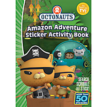 Buy Octonauts Activity Sticker Book Double Pack Online at johnlewis.com