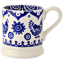 Buy Emma Bridgewater Blue Hens Mug, 1/2 pint Online at johnlewis.com