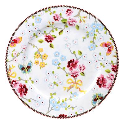 PiP Studio Chinese Blossom Dinner Plate, Dia.26.5cm