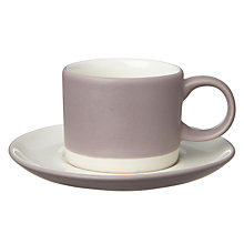 Buy John Lewis Croft Collection Espresso Cup and Saucer Online at johnlewis.com