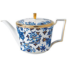 Buy Wedgwood Hibiscus Teapot Online at johnlewis.com
