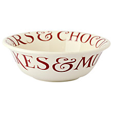 Buy Emma Bridgewater Red Toast Cereal Bowl Online at johnlewis.com