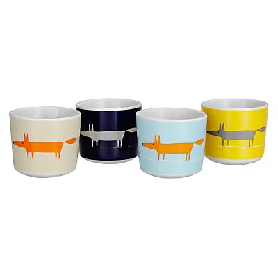 Scion Mr Fox Egg Cups, Set of 4