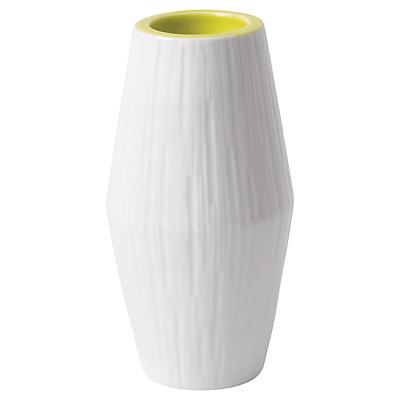 HemingwayDesign for Royal Doulton Tall Tealight Holder, White/Yellow
