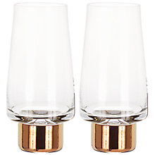 Buy Tom Dixon Tank Highball Glasses, Set of 2 Online at johnlewis.com