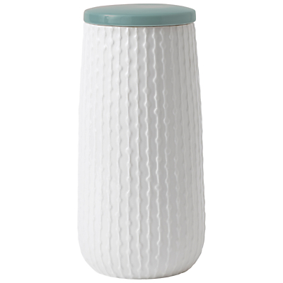HemingwayDesign for Royal Doulton Storage Jar, Large, White/Blue