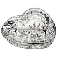 Buy Waterford Giftology Heart Box Online at johnlewis.com