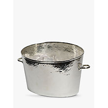 Buy Culinary Concepts Silver Plated Champagne Bath Online at johnlewis.com