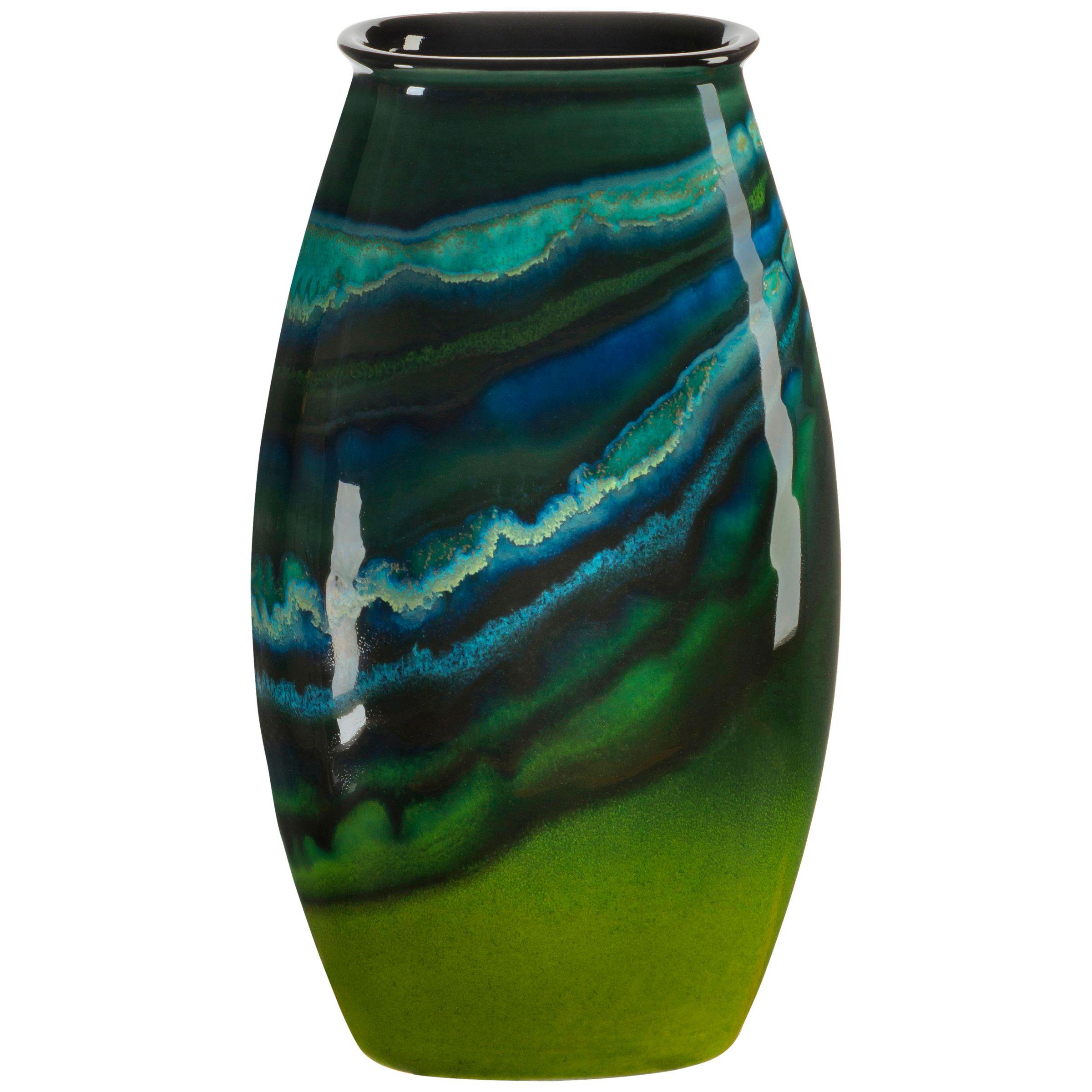 Poole Pottery Poole Pottery Maya Manhattan Vase, H26cm