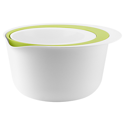 Eva Solo Bowl and Colander Set, White/Green