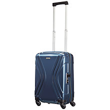 Buy American Tourister Vivotec 4-Wheel 55cm Cabin Spinner Suitcase Online at johnlewis.com