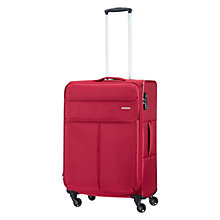 Buy American Tourister Colora 4-Wheel 66.5cm Medium Expandable Spinner Suitcase Online at johnlewis.com