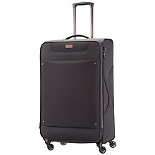 Buy American Tourister Ocean Grove 4-Wheel 79cm Large Expandable Spinner Suitcase, Black Online at johnlewis.com