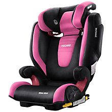 Buy Recaro Monza Nova 2 Seatfix Group 2/3 Car Seat, Pink Online at johnlewis.com