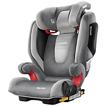 Buy Recaro Monza Nova 2 Seatfix Group 2/3 Car Seat, Shadow Online at johnlewis.com