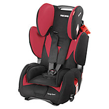 Buy Recaro Young Sport Car Seat, Cherry Online at johnlewis.com