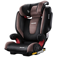 Buy Recaro Monza Nova 2 Seatfix Group 2/3 Car Seat, Mocca Online at johnlewis.com