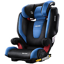 Buy Recaro Monza Nova 2 Seatfix Group 2/3 Car Seat, Sapphire Online at johnlewis.com
