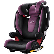 Buy Recaro Monza Nova Group 2/3 Car Seat, Violet Online at johnlewis.com