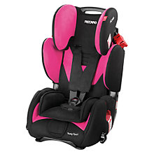 Buy Recaro Young Sport Car Seat, Pink Online at johnlewis.com