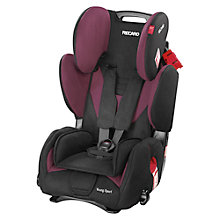 Buy Recaro Young Sport Car Seat, Violet Online at johnlewis.com
