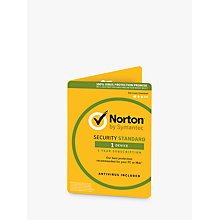 Buy Norton Security 2.0: 1 User, 1 Device Online at johnlewis.com