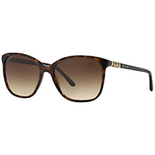 Buy Bvlgari BV8152B Square Sunglasses, Dark Havana Online at johnlewis.com