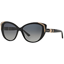 Buy Bvlgari BV8151BM Cat's Eye Sunglasses Online at johnlewis.com