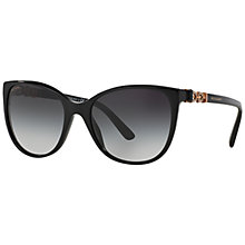 Buy Bvlgari BV8145B Square Framed Sunglasses Online at johnlewis.com