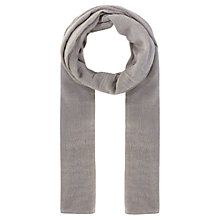 Buy Coast Sophie Metallic Scarf, Silver Online at johnlewis.com