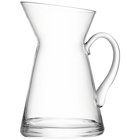 Buy Lsa International Flower Jug Glass Vase John Lewis