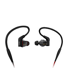 Buy Sony XBA-H3 In-Ear Headphones with Remote/Mic, Black Online at johnlewis.com