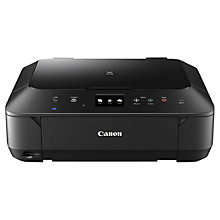 Buy Canon PIXMA MG6650 All-In-One Wireless Printer, Black + Ink Cartridge with FREE Paper Online at johnlewis.com