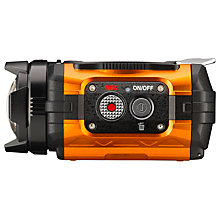 Buy Ricoh WG-M1 Action Cam Camcorder, HD 1080p, 14MP, Orange with Memory Card Online at johnlewis.com