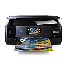 Buy Epson Expression Photo XP-760 All-in-One Wireless Printer, Black Online at johnlewis.com