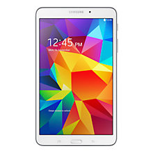"Buy Samsung Galaxy Tab 4 8.0 Tablet, Quad-core Marvell PXA, Android, 8"", Wi-Fi, 16GB Online at johnlewis.com"