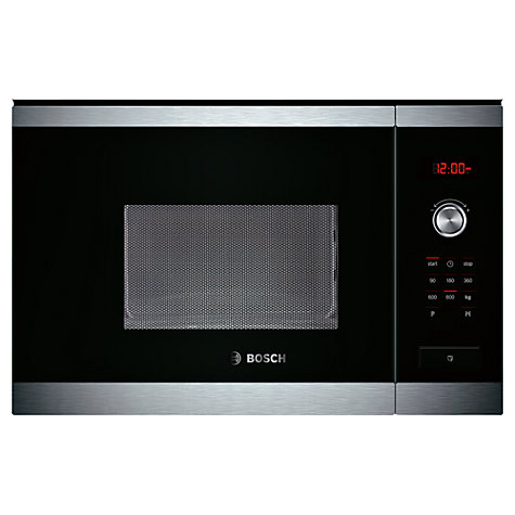 Buy Bosch Hmt75m654b Built In Compact Microwave Oven