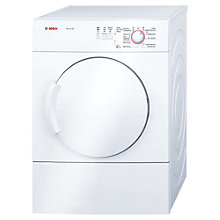 Buy Bosch Classixx WTA74100GB Sensor Vented Tumble Dryer, 6kg Load, C Energy Rating, White Online at johnlewis.com