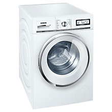 Buy Siemens WM16Y591GB Freestanding Washing Machine, 8kg Load, A+++ Energy Rating, 1600rpm Spin Speed, White Online at johnlewis.com