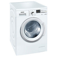 Buy Siemens WM14Q391GB Freestanding Washing Machine, 8kg Load, A+++ Energy Rating, 1400rpm Spin, White Online at johnlewis.com