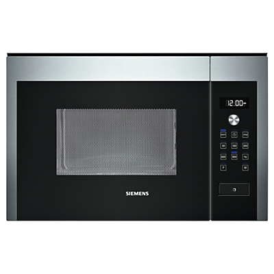 Image of Siemens HF24M564B Built-In Compact Microwave, Stainless Steel