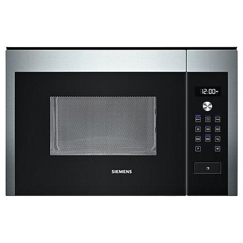 Buy siemens hf24m564b built in compact microwave stainless steel john lewis - Microondas de encastrar ...