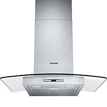 Buy Siemens LC68GB542B Chimney Cooker Hood, Stainless Steel Online at johnlewis.com