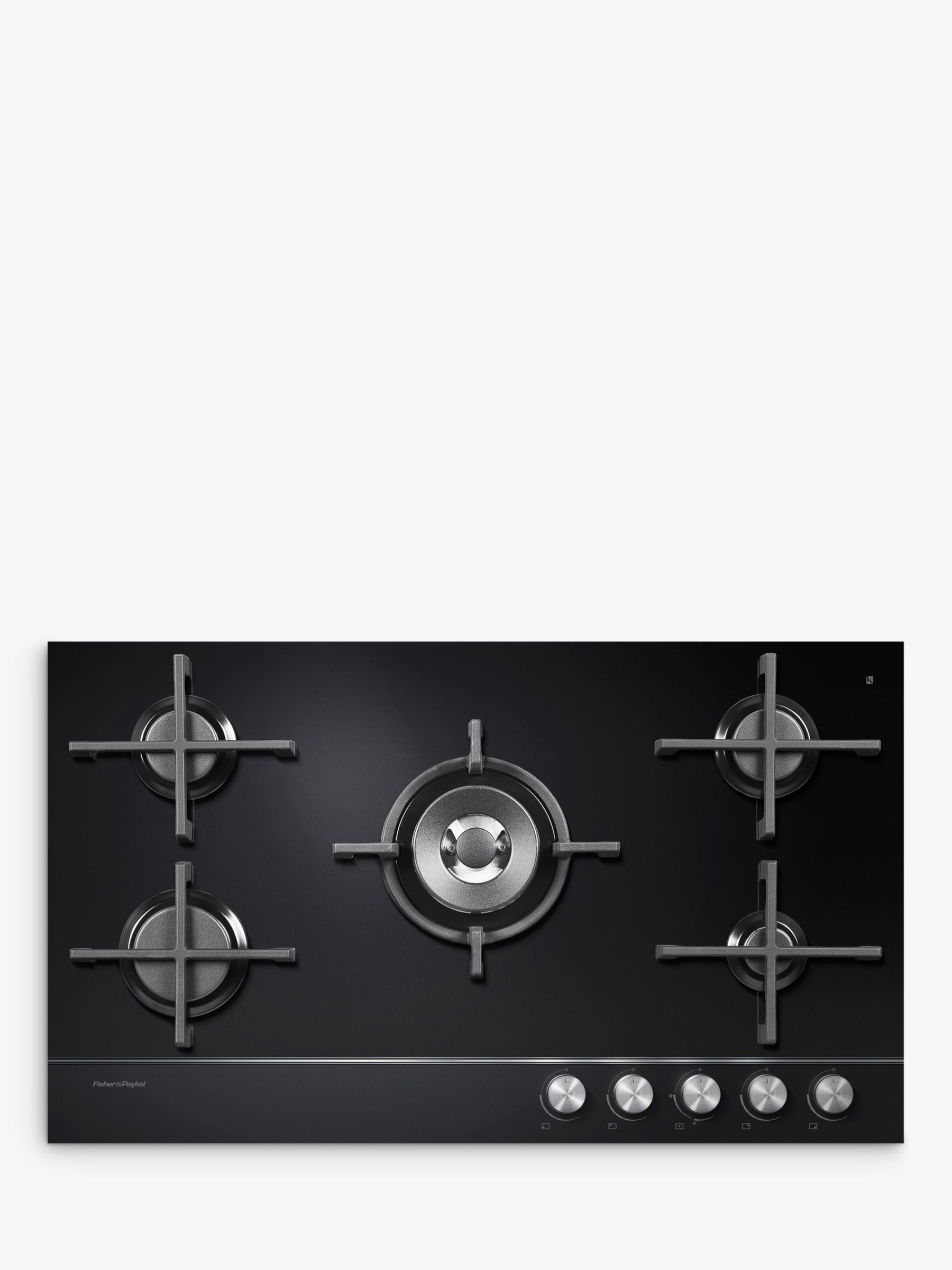 Fisher & Paykel Fisher & Paykel CG905DNGGB1 Gas Hob, Black Glass