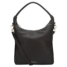 Buy Whistles Belgrave Simple Hobo Bag, Black Online at johnlewis.com