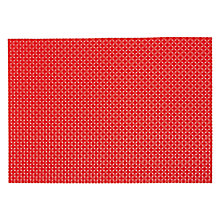 Buy House by John Lewis Polypropylene Placemat, Teal Online at johnlewis.com