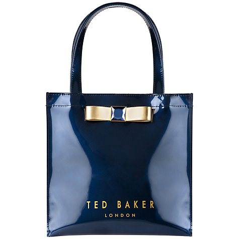 69472f843284a Buy Ted Baker Precon Bow Small Iconic Bag Online at johnlewis