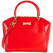 Buy Ted Baker Petra Bow Small Leather Tote Bag Online at johnlewis.com